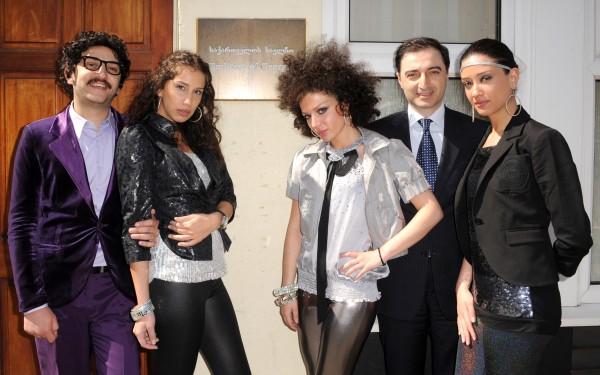 Georgian Eurovision entrants 2009
