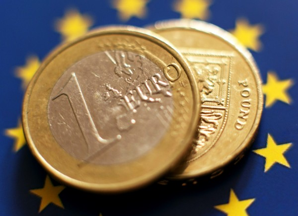 Euro currency stock.