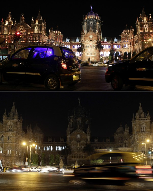 Mumbai's historic railway station Chhatrapati Shivaji Maharaj Terminus