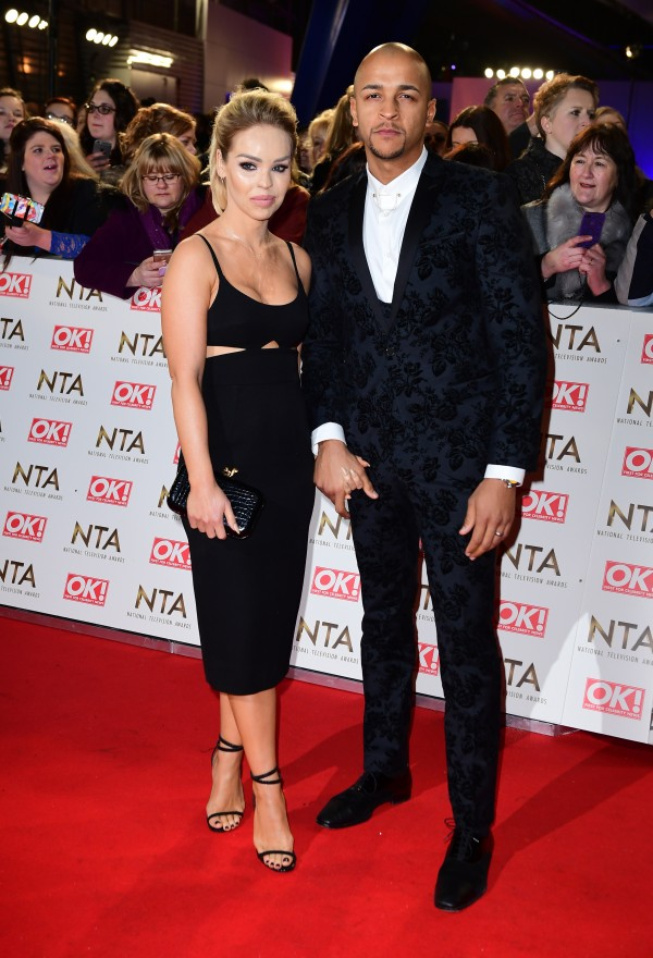 Katie Piper and Richard Sutton