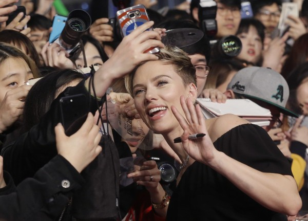 Scarlett Johansson (Ahn Young-joon/AP)