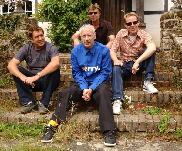 The Sex Pistols, from left to right; Steve Jones John Lydon, Glen Matlock and Paul Cook in 2002. (PA Archive)