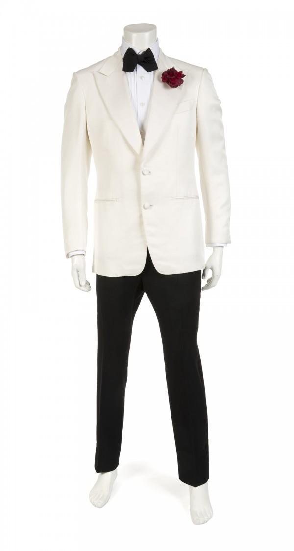 The dinner jacket worn by Daniel Craig in 2015 Bond film Spectre