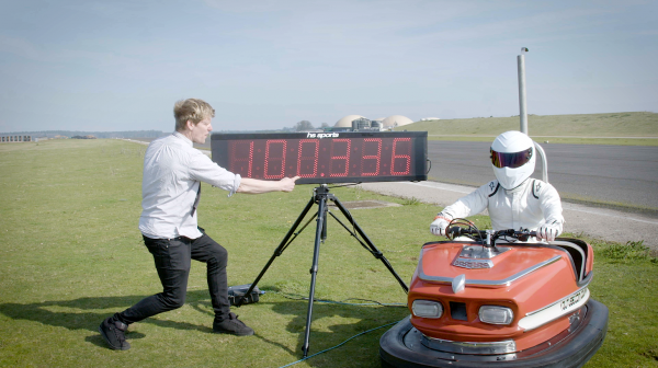 Colin Furze and The Stig