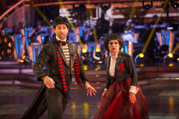 Anton danced with actress Lesley Joseph in last year's Strictly.