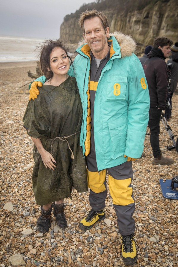 Kevin Bacon and Scarlett Moffatt