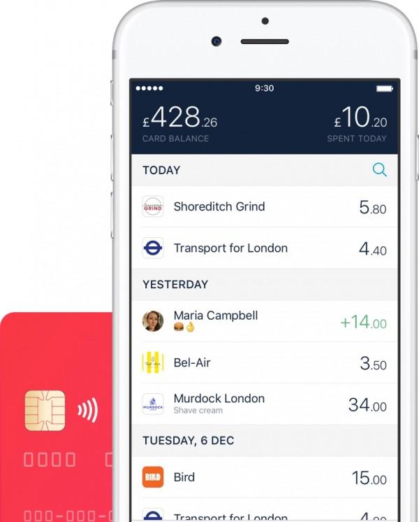 Monzo mobile bank