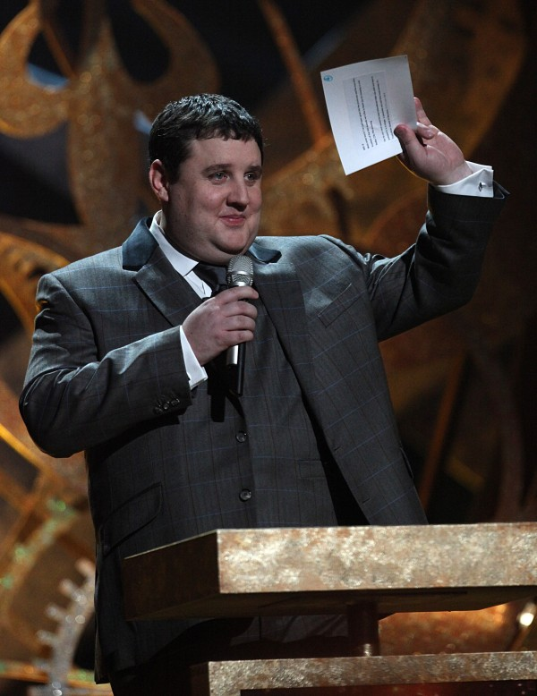 Peter Kay during the BRIT Awards 2010, at Earls Court, London.