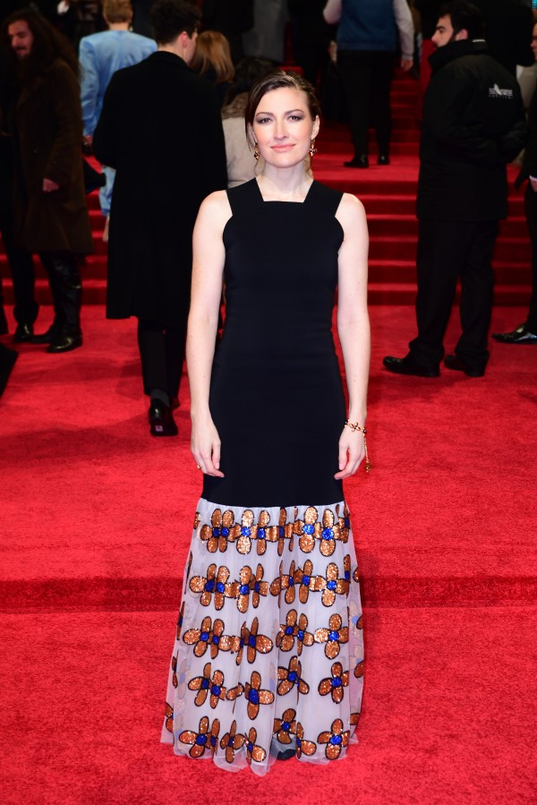 Kelly Macdonald attending the EE British Academy Film Awards held at the Royal Albert Hall. (Ian West)