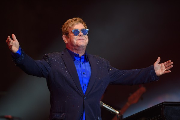 Sir Elton enjoys fatherhood into his 70s.