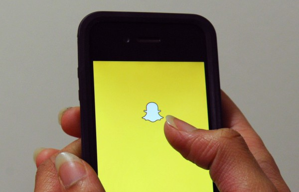 Snapchat app.