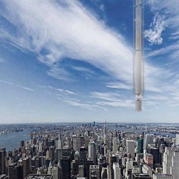 The skyscraper above New York