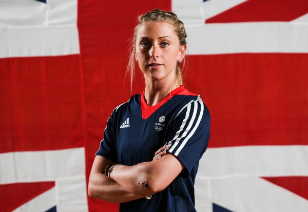 Laura Kenny before the Rio Olympics (Barrington Coombs/PA)