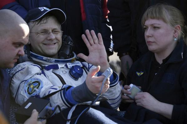 Russian cosmonaut Andrei Borisenko