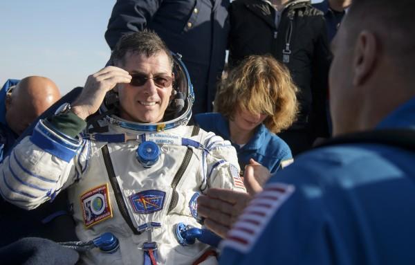 US astronaut Robert Shane Kimbrough