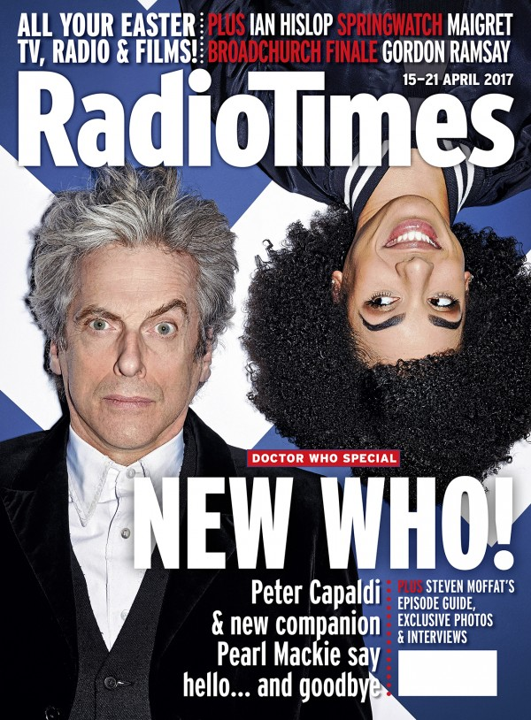 The new cover of the Radio Times.