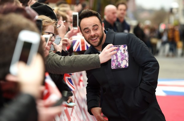 Ant McPartlin (Joe Giddens/PA)