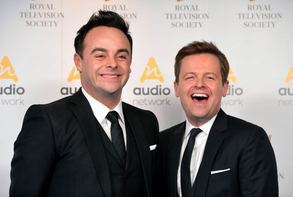 Britain's Got Talent and Ant & Dec's Saturday Night Takeaway hosts Ant and Dec
