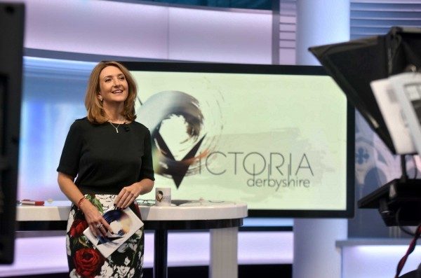 BBC2's Victoria Derbyshire is nominated for a TV Bafta