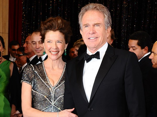 Warren and Annette hit the Oscars in 2011.