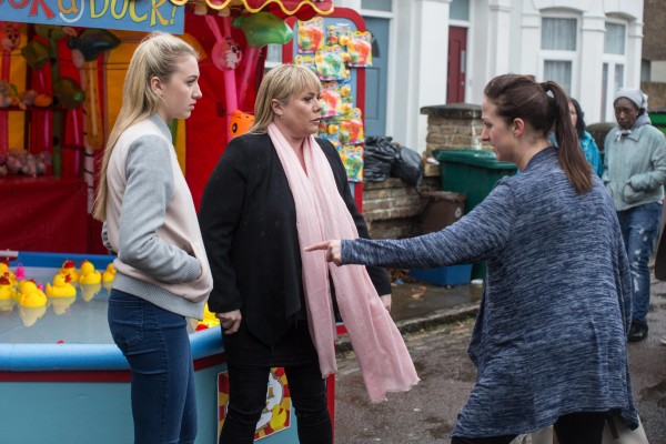 EastEnders Louise, Sharon and Sonia