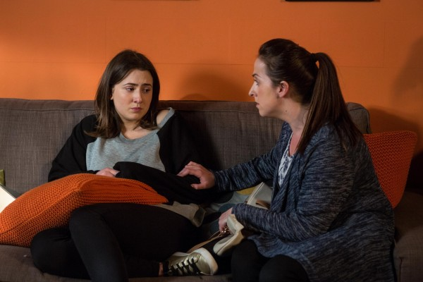 EastEnders Bex and Sonia
