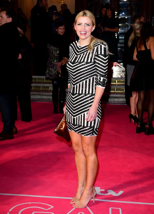 Ellie Harrison attending the ITV Gala at the London Palladium