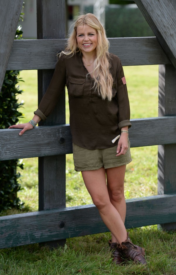 Presenter Ellie Harrison during the photocall to open BBC Countryfile Live at Blenheim Palace in Oxfordshire