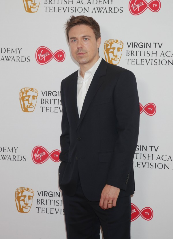 Andrew Buchan during the TV Bafta nominations at BAFTA, in central London. (Yui Mok)