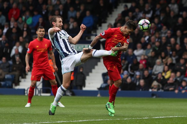 Roberto Firmino seals victory for Liverpool at West Bromwich Albion