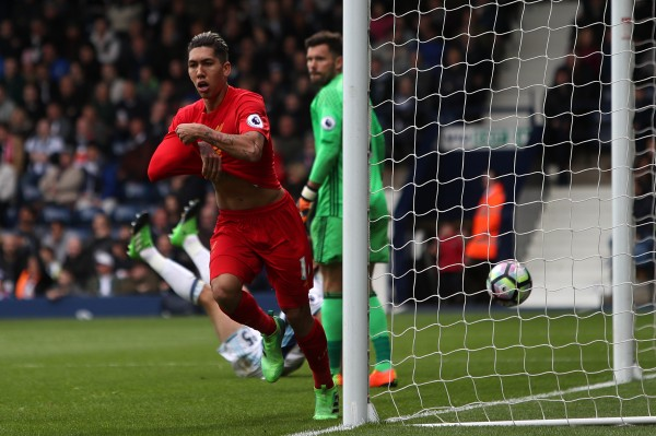 Roberto Firmino header keeps Liverpool's top-four aspirations on track