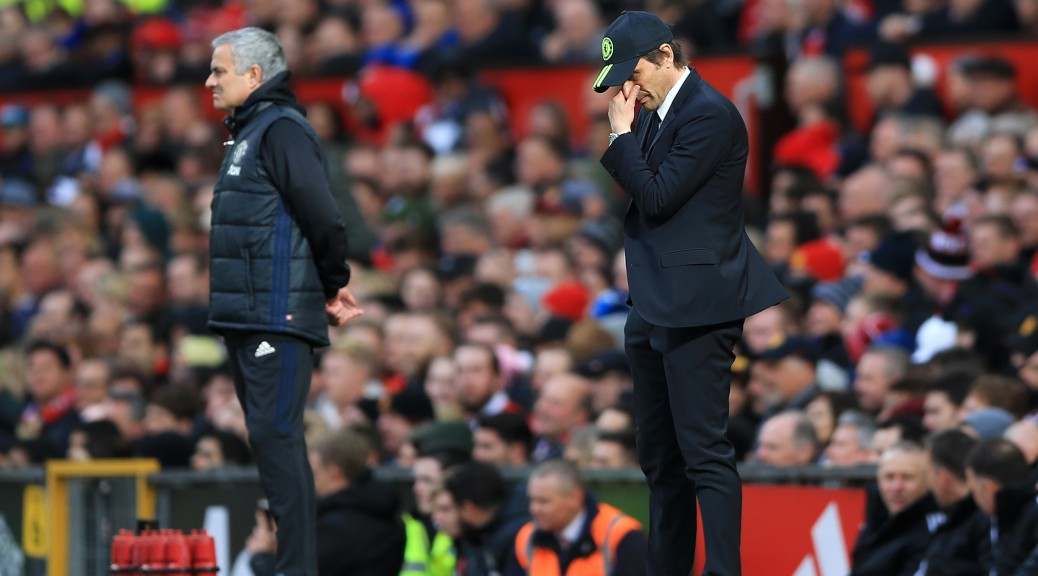 Conte takes blame for Chelsea's defeat at Old Trafford