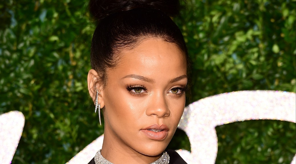 Rihanna Just Won Coachella in This Sequined Bodysuit With ATTACHED FACE MASK