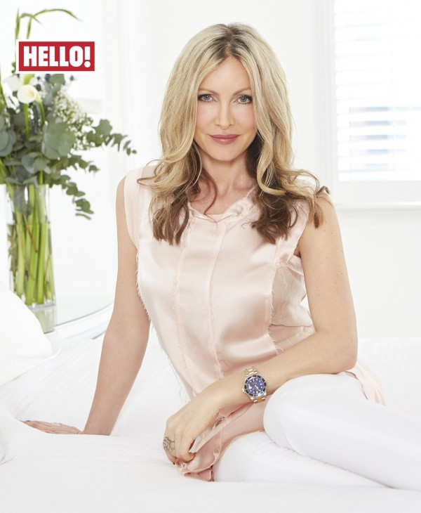 Caprice talks about her diagnosis in this week's Hello!