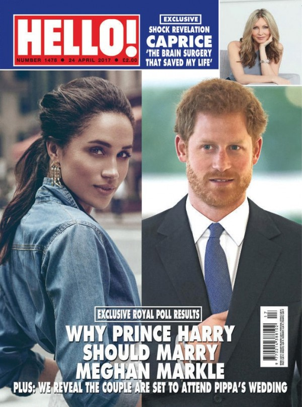 This week's issue of Hello!