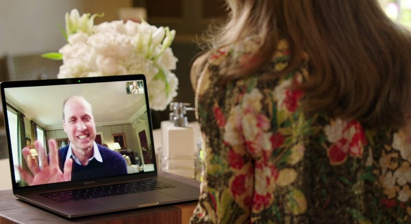Prince William and Lady Gaga FaceTime to Promote Mental Health Awareness