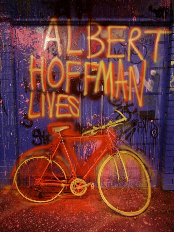 The research was published on 'Bicycle Day', when in 1943 Albert Hoffman, who first synthesised LSD, rode home following his first trip