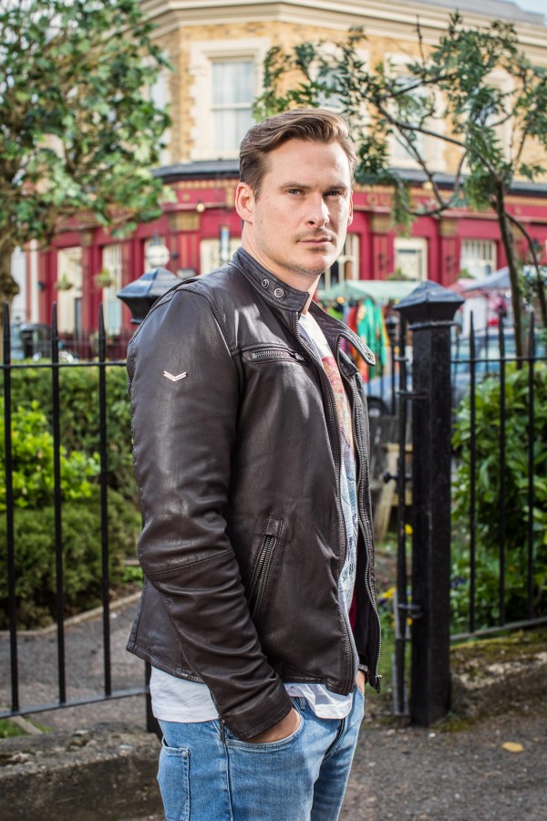 Lee Ryan stars in EastEnders. (BBC)