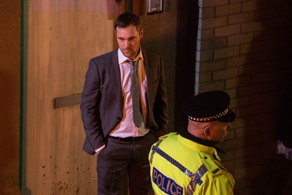 Coronation Street killer Rob Donovan played by Marc Baylis