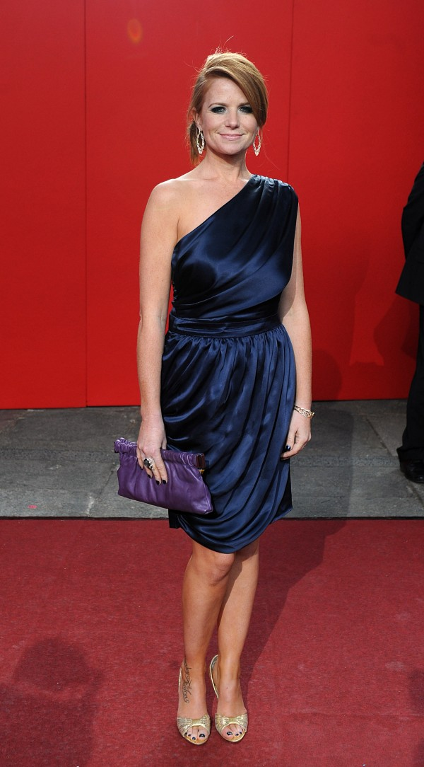 Patsy Palmer arriving for the 2009 British Soap Awards at the BBC Television Centre, Wood Lane, London.