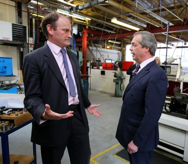 farage and carswell (Gareth Fuller/PA)