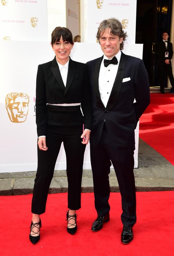 Davina McCall and John Bishop