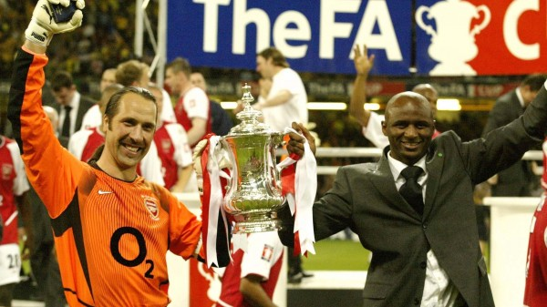 David Seaman and Patrick Vieira