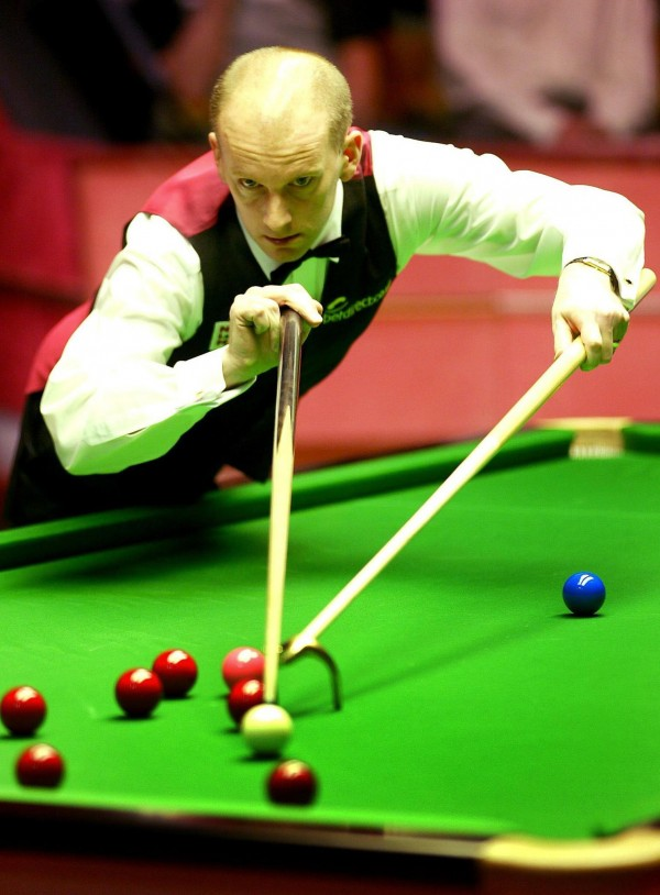 Snooker player Peter Ebdon
