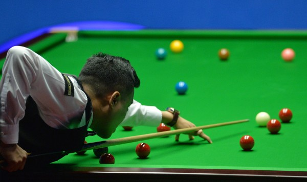 Snooker player Marco Fu