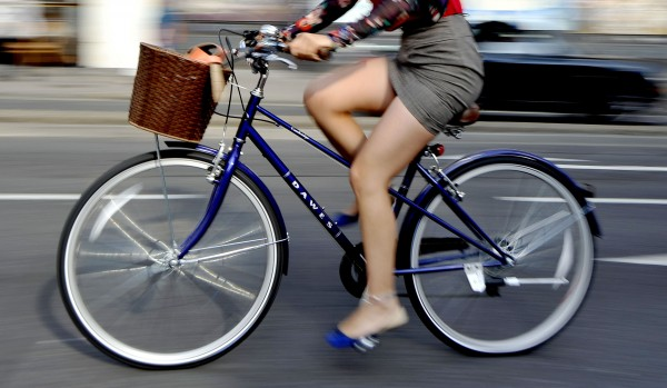 File photo dated 07/08/13 of a woman riding a bike.