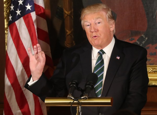 Donald Trump (Niall Carson/PA)