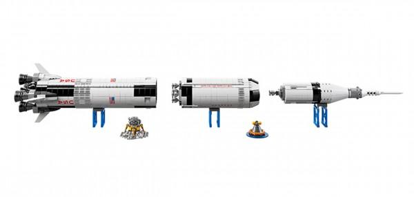 Lego Saturn V