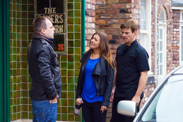 Coronation Street Steve and Michelle