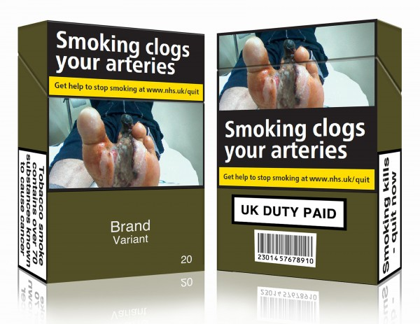 standardised packaging for tobacco